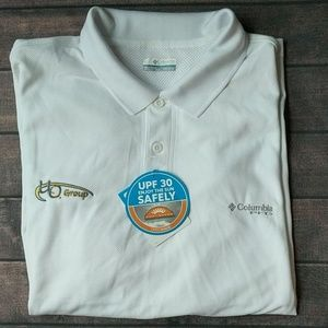 Columbia | White Fishing Shirt